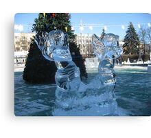 Ice sculptures-2 Canvas Print