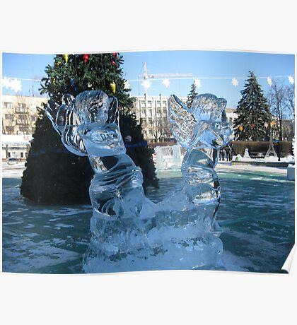 Ice sculptures-2 Poster