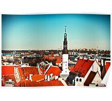 Old Town of Tallinn Poster