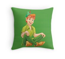 Peter - Peter Pan Throw Pillow