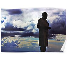 Clouds and the Man Poster