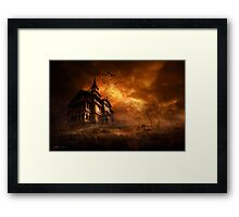 Forbidden mansion Framed Print