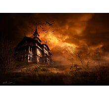 Forbidden mansion Photographic Print