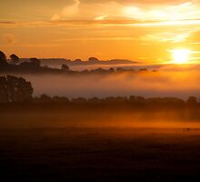 Cotswold Sunrise, England by Giles Clare