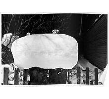 Snow Hat Poster