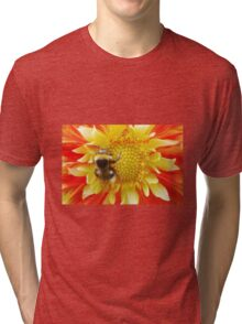 Flaming Summer with hashtag Tri-blend T-Shirt