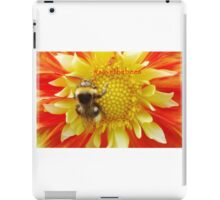 Flaming Summer with hashtag iPad Case/Skin