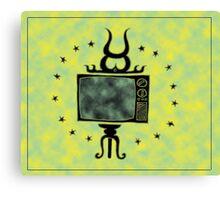 Holy Tv Canvas Print