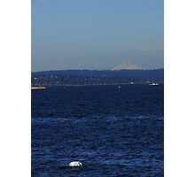 The Bag and Mt Baker Photographic Print