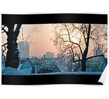 Winter in Tallinn Poster
