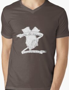 Die looking for a hand to hold Mens V-Neck T-Shirt