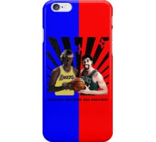 Parallel Universe NBA greatest Street Art iPhone Case/Skin