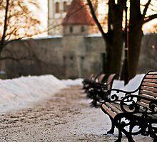 Winter in Tallinn by tutulele