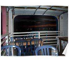 Cafe Michael Burger -Galveston, TX Poster