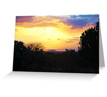 From a Distance (Mount Kilimanjaro) Greeting Card