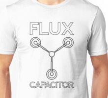 Flux Capacitor - Black Unisex T-Shirt