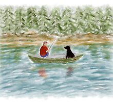 Fishing Buddies by Sarah Countiss