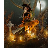 Autumn Hallowe's Eve  Photographic Print