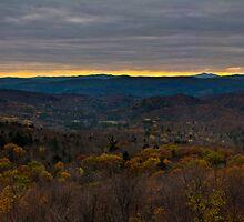 Autumn Sunset by kflanary