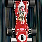 Mario F-1 Ferrari by davidkyte