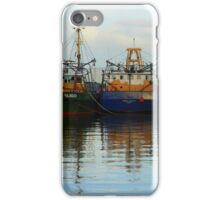 Irish Fishing Boats iPhone Case/Skin