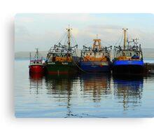 Irish Fishing Boats Canvas Print