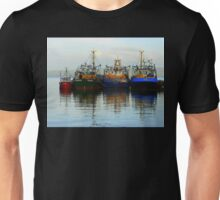 Irish Fishing Boats Unisex T-Shirt