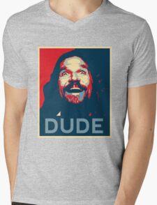 Dude Mens V-Neck T-Shirt