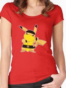 Pikality (or Scorpiochu) Women's Fitted Scoop T-Shirt