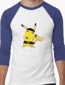 Pikality (or Scorpiochu) Men's Baseball ¾ T-Shirt