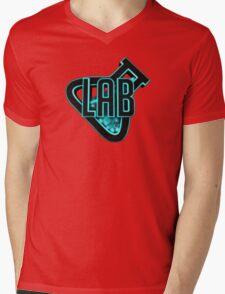 LaB Logo Mens V-Neck T-Shirt