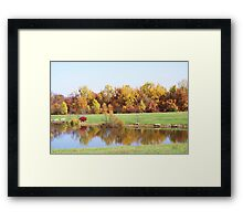 PERSONAL LAKE Framed Print