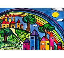 Rainbow Valley Photographic Print