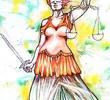 Justitia by MsSophieArt