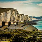 The Coast Guard Cottages And The Seven Sisters by Chris Lord