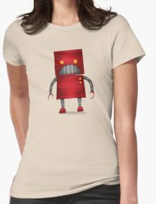 Robot Womens Fitted T-Shirt