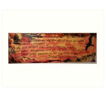 Ancient Mariner Art Print