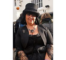 The Goth Weekend at Whitby, Oct 2011. 3 Photographic Print