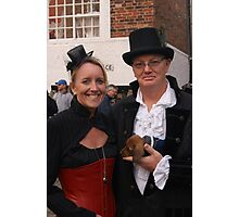 The Goth Weekend at Whitby, Oct 2011. 9 Photographic Print