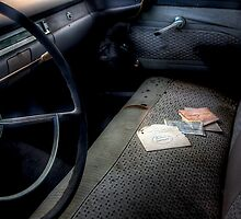 Battery Warranty -- 1959 Ford Fairlane Interior by njordphoto
