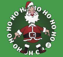 Santa Claus: Ho Ho Ho Baby Tee
