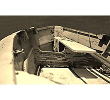 Wooden Dinghy Photographic Print