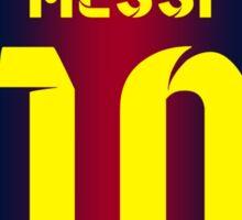 Messi 10 Sticker
