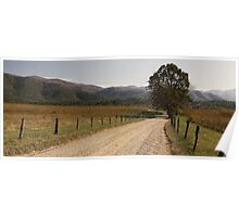 Stories - Cades Cove, Great Smoky Mountains NP Poster