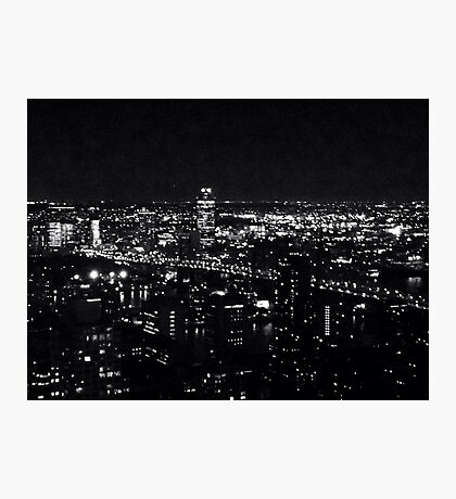 "NYC ""All the Little Lights"" Photographic Print"