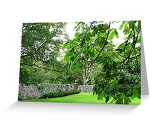 Gloriously Green - Lews Castle Grounds Greeting Card