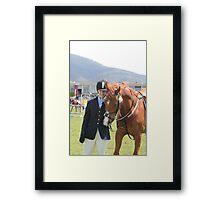 My Pony Calendar 2012 - Royal Hobart Show 2011 Framed Print