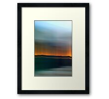 Horizon Light Framed Print