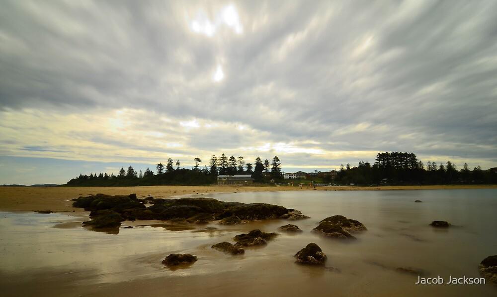 Rocks At Toowoon - Toowoon Bay Beach by Jacob Jackson
