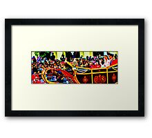 Wishing for a colourful wave Framed Print
